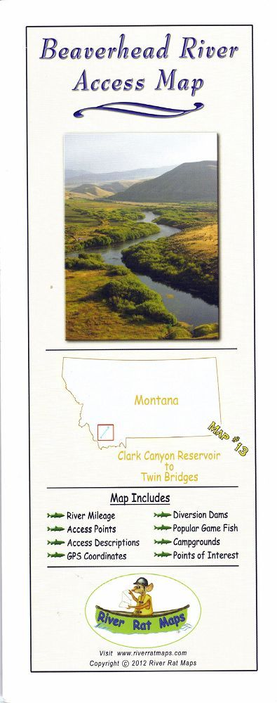 Beaverhead River Access Map In Maps