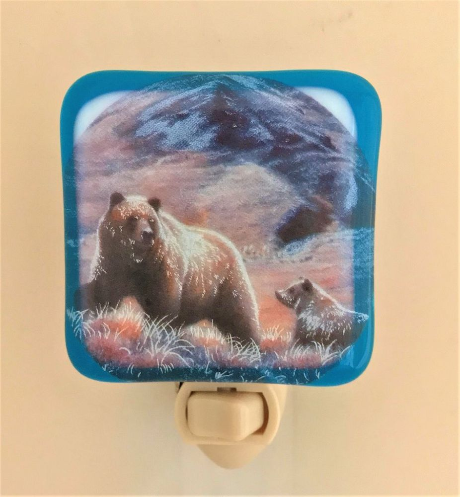 Grizzly Bear Night Light