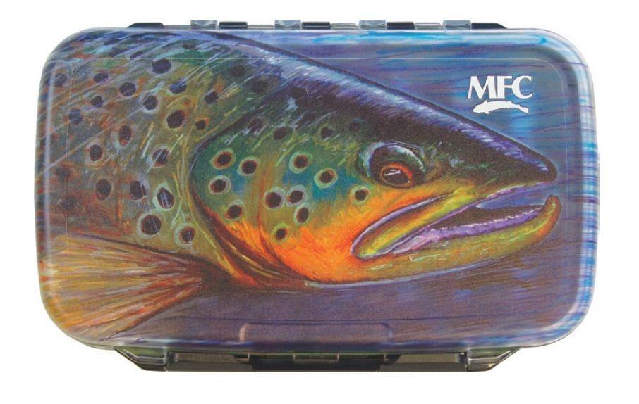 Brown Skin MFC Sundell Aluminum Fly Box Foam