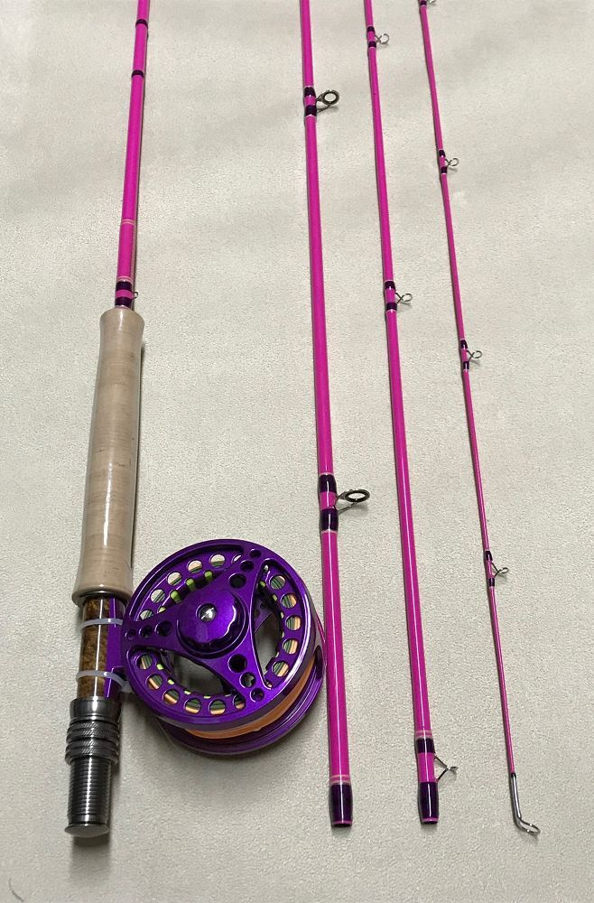 Wild Thing Rod/Reel 4Pc Combo 9 Ft 5/6 Wt