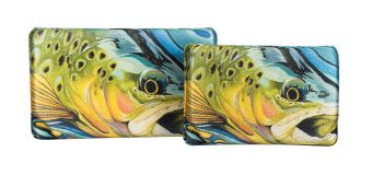 Trout Covered Lycra EVA Fly Box
