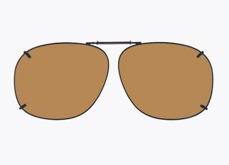 18dfa0da451 Cocoons Clip-On SQ3-57 GNMTL AMBR SQ3-57 in Sunglasses
