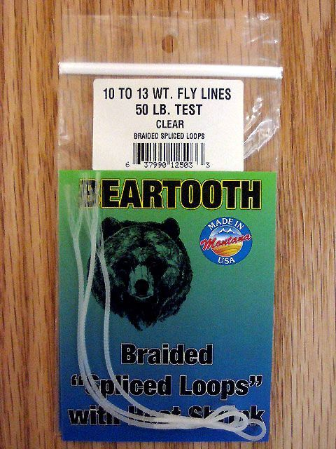 Beartooth Braided Loops 50 LB Clear 50 LB