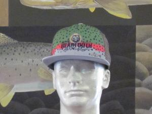 445f89db21ad2 Rainbow Trout Skin Hat w BT Logo OSFM in Hats Unisex
