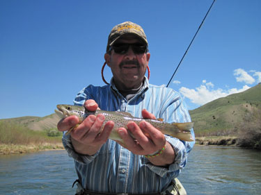 May 22 2014 project healing waters fly fishing for Beaverhead fishing report