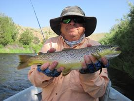 July 21st beaverhead river fishing report beartooth for Beaverhead fishing report