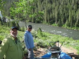 May 29th henry 39 s fork river fishing report beartooth for Henry s fork fishing