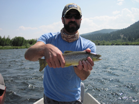 August 7th 13th madison river fishing report beartooth for Hebgen lake fishing report